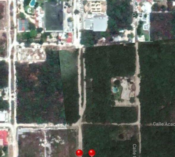 Terreno en venta Cancún en Álamos entre Huayacan y av la Luna