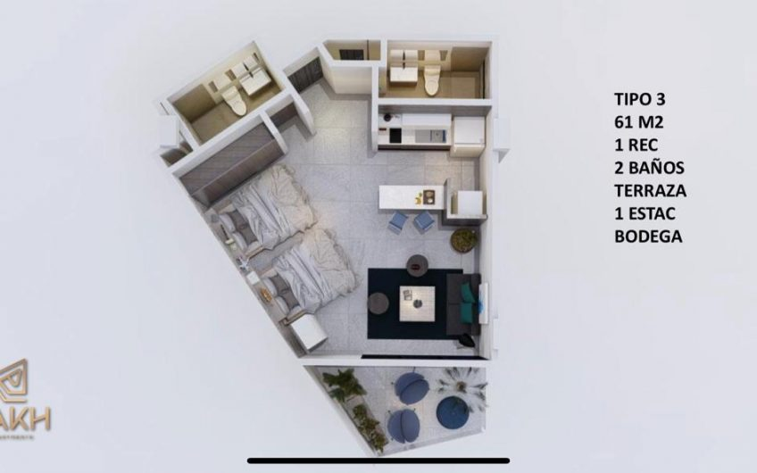 DEPARTAMENTOS EN VENTA CANCUN ZONA HOTELERA