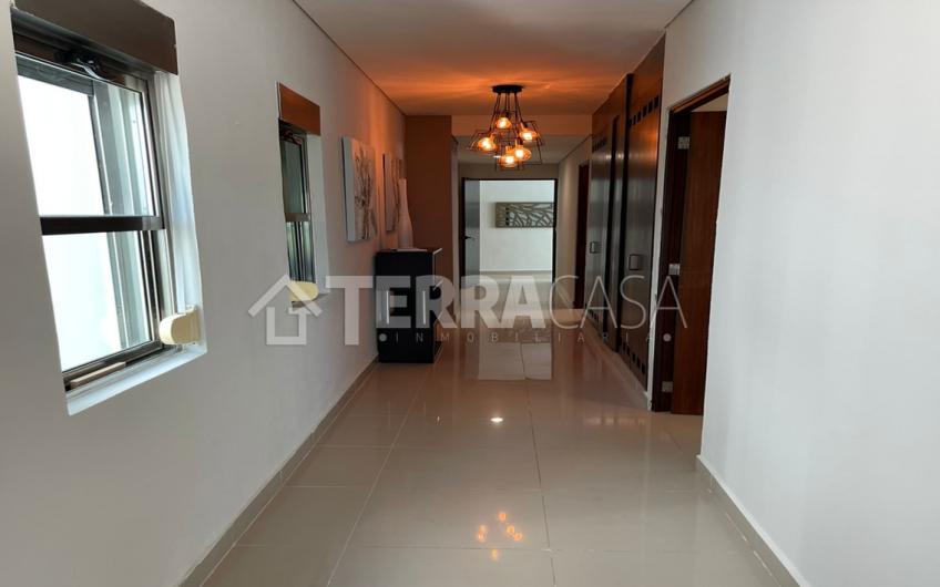 Departamento en Renta amueblado en residencial la playa Cancún