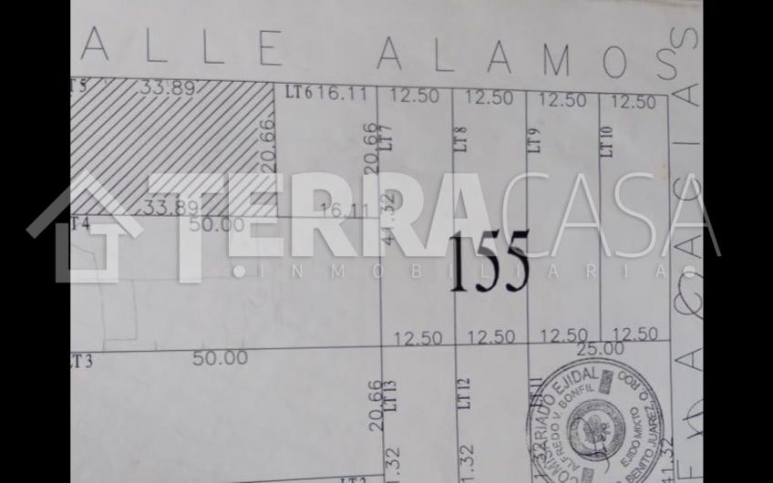 Terreno en Venta en Av. Alamos