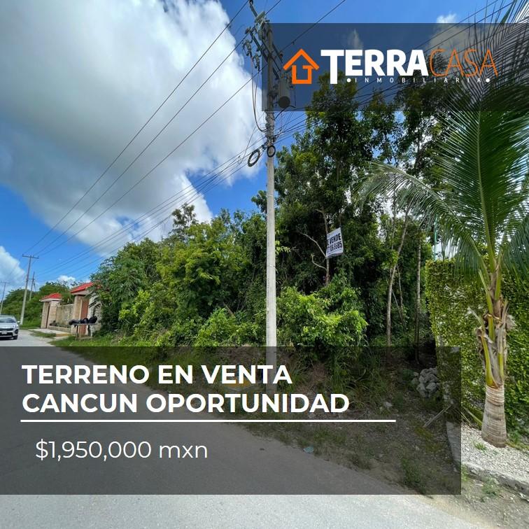 Terreno en Venta Cancun Oportunidad